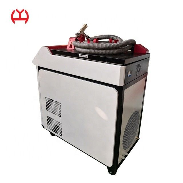 Carbon Steel  Fiber Laser Welding Machine , Mini Laser Welder 750-1000mm Dimensions